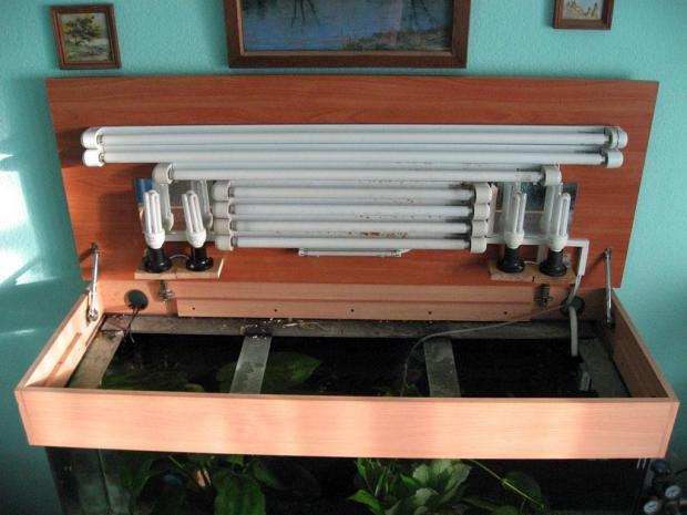 Крышка для аквариума купить защиту от пыли и выпрыгивания рыб.