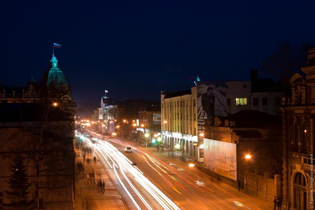 Фото ночного томска